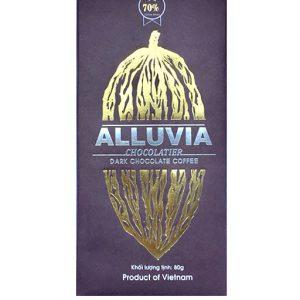 Socola đen Alluvia cafe Arabica