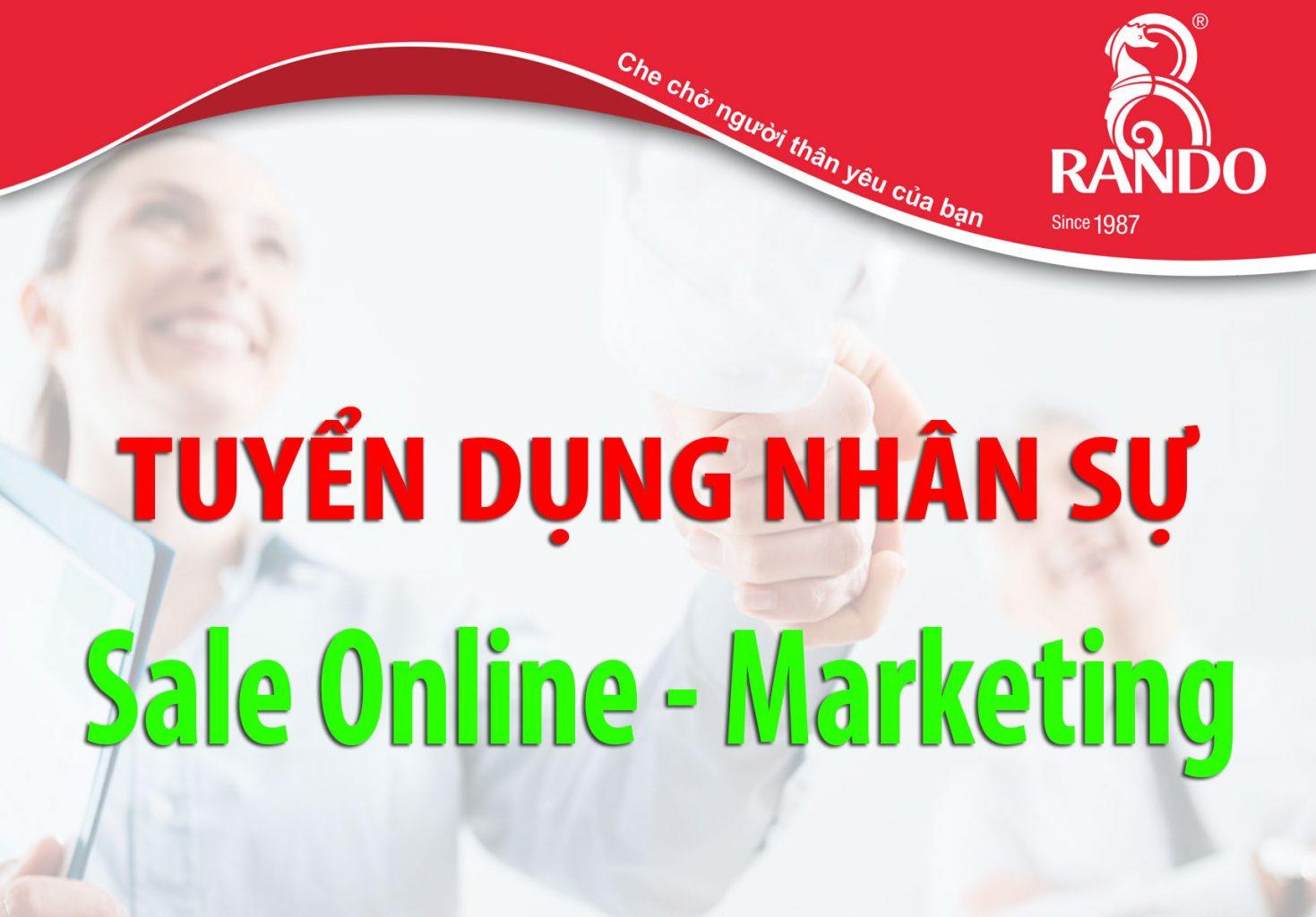 Nhân Viên Sale \u2013 Marketing online