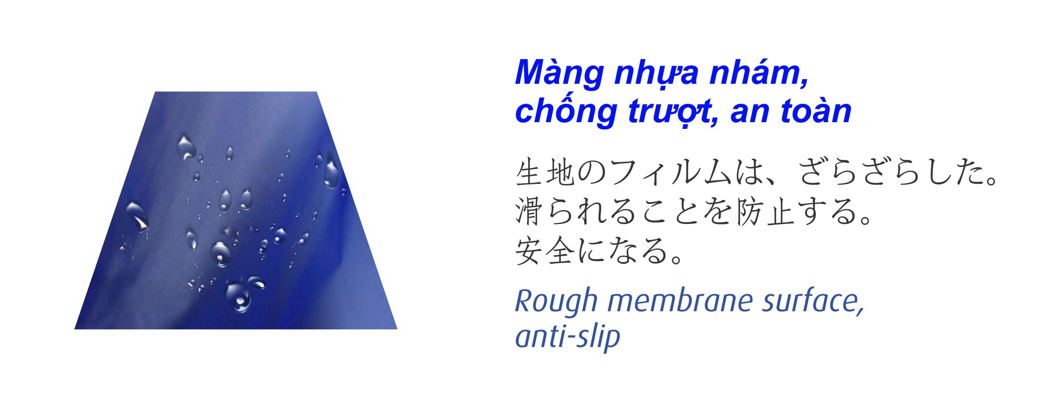 Bộ áo mưa trong màu thời trang - RANDO