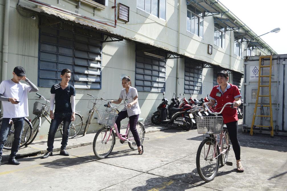 Trò chơi chạy xe đạp chậm