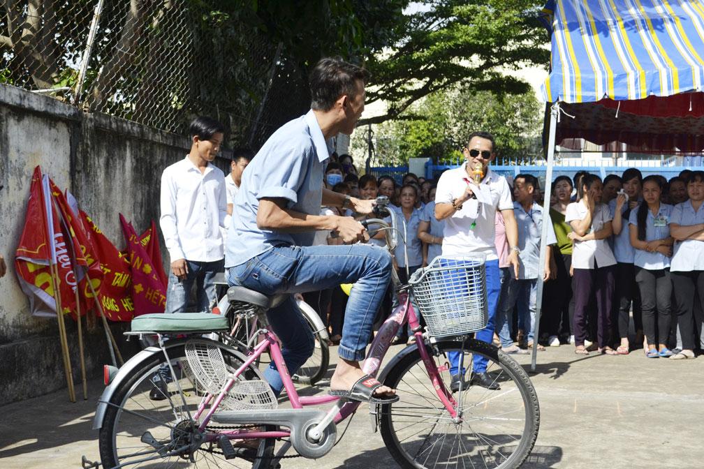 Trò chơi chạy xe đạp chậm 1