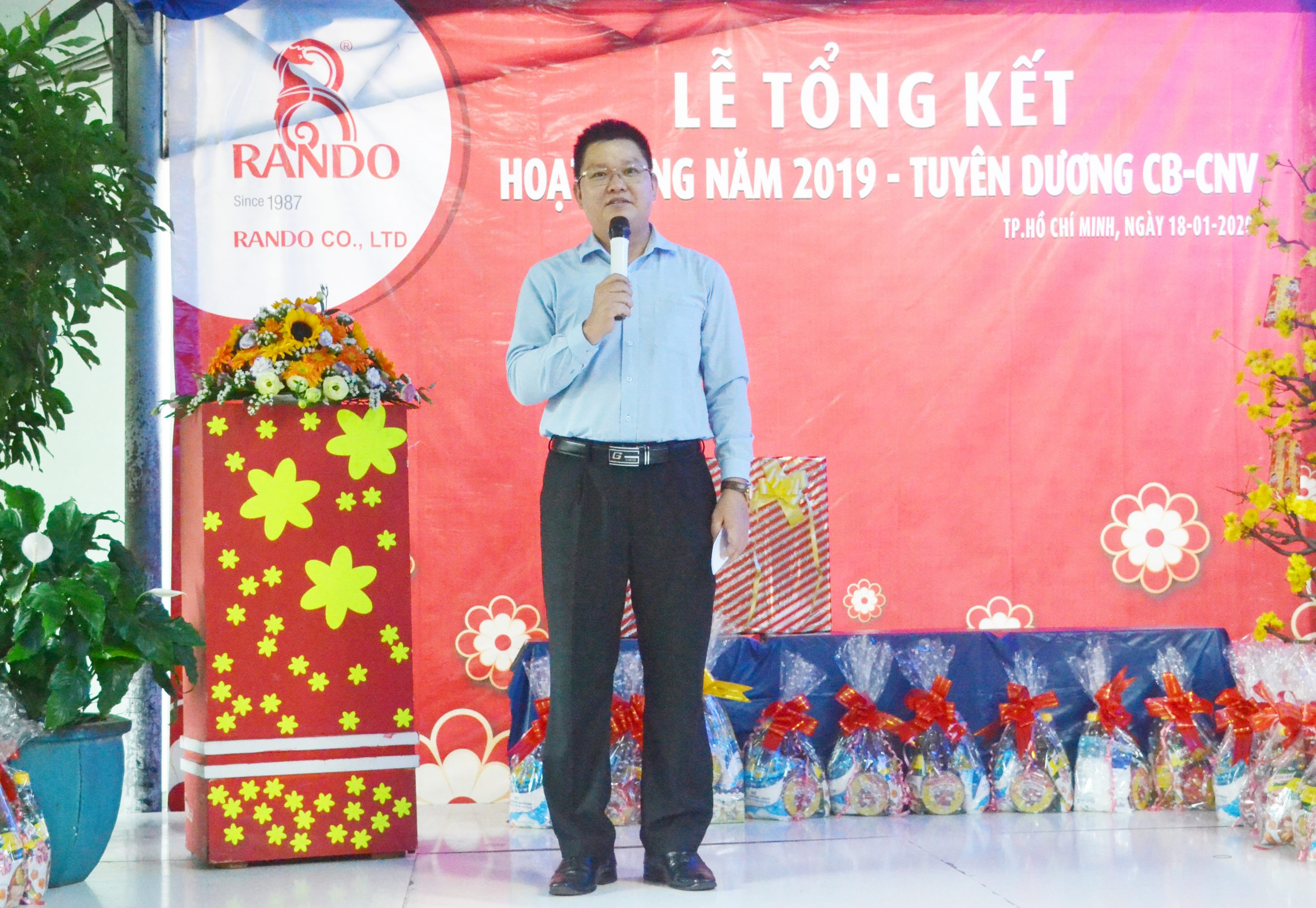 Ông Lê Kim Tú – Giám Đốc Điều Hành RANDO