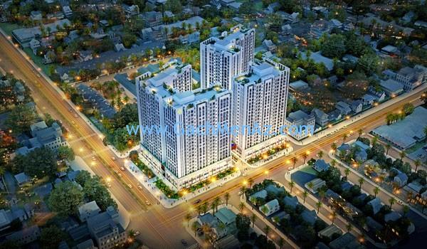 Quận Tân Phú cùng nhiều công trình xây dựng