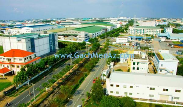 Thị xã Thuận An, Bình Dương cùng nhiều công trình xây dựng