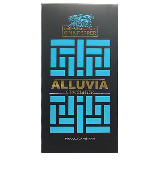 Socola đen Alluvia nhân tiêu quế