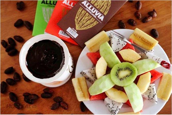 Cách làm trà sữa trân châu socola tại nhà giúp đảm bảo sức khỏe cho gia đình vì có thể lựa chọn bột cacao
