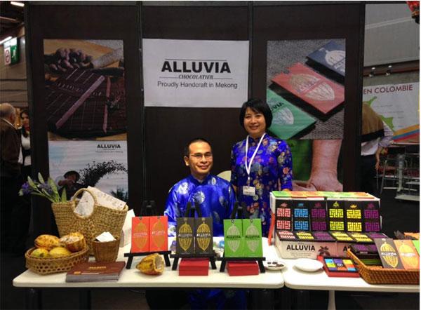 Socola nhiều loại do Alluvia cung cấp