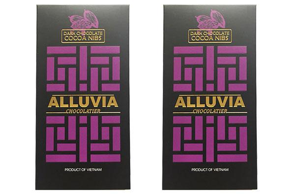 Socola đen Alluvia nhân nib