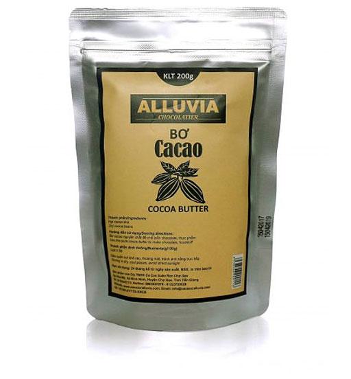 Alluvia đảm bảo tác dụng của bơ cacao từ thiên nhiên