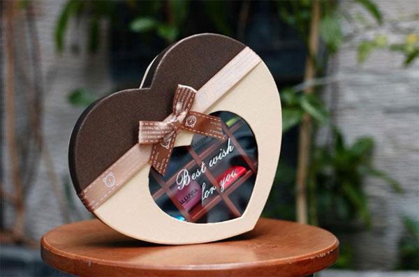 Socola là món quà biểu tượng của tình yêu
