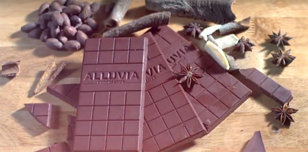 Chocolate bean to bar alluvia