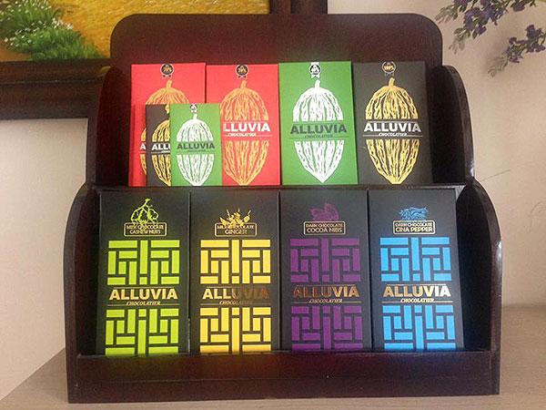 Alluvia là thương hiệu socola thủ công được đông đảo người dùng yêu thích