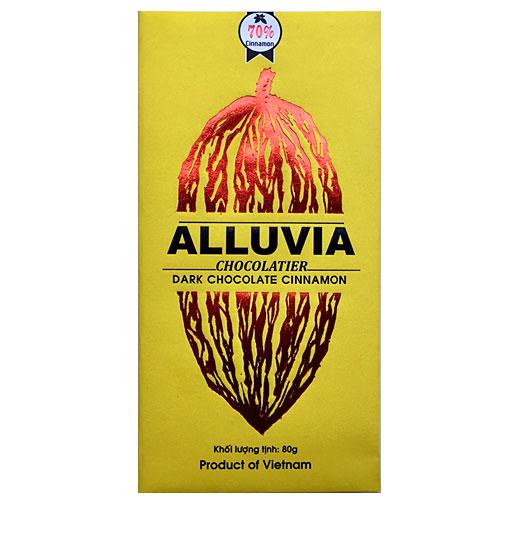 Socola đen Alluvia vị quế