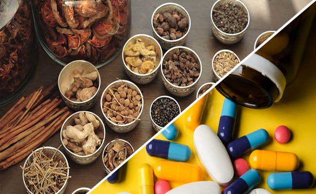 Đông y kết hợp tây y để chữa bệnh