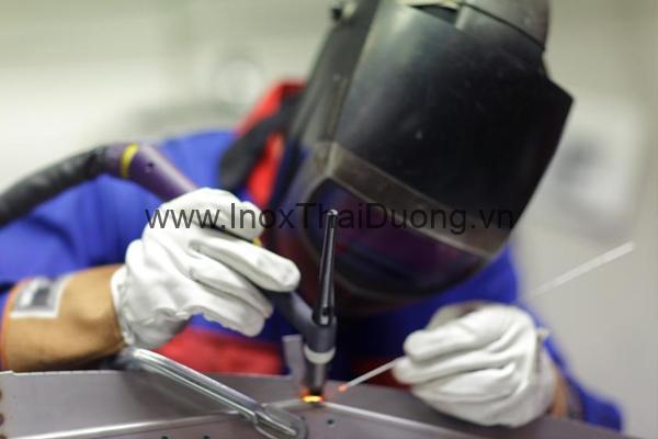 Inox 201 áp dụng được tất cả các kỹ thuật hàn thông thường
