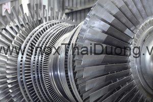 Turbin làm từ thép Martensitic