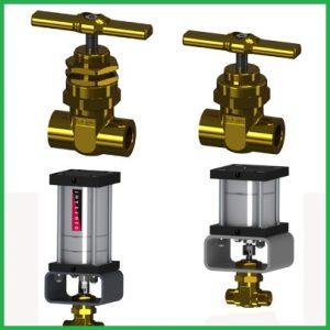 HIGH PRESSURE GAS CONTROL VALVE