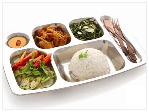 Suất cơm công nghiệp phải đầy đủ dinh dưỡng, an toàn thực phẩm