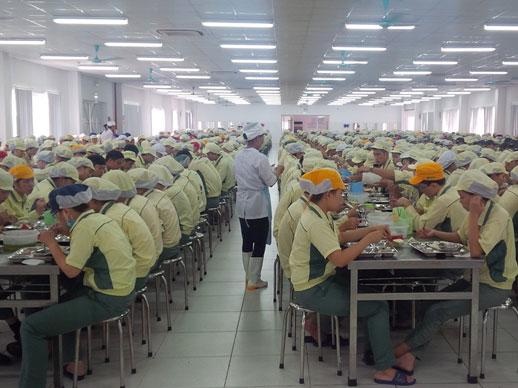 Cung cấp suất ăn cho công ty, xí nghiệp tại Đồng Nai uy tín, chât lượng