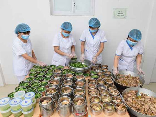 Được phục vụ suất ăn cho bệnh viện Đồng Nai là niềm vinh hạnh của Nguyên Nhi Phát