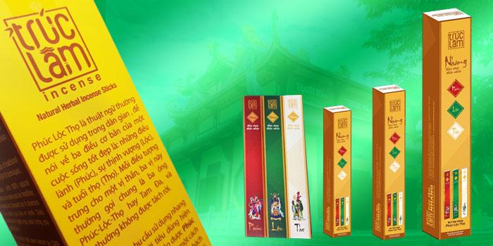 Nhang thảo dược Trúc Lâm có thành phần an toàn với sức khỏe của con người