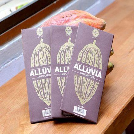 Alluvia mang đến những thanh socola chất lượng, an toàn
