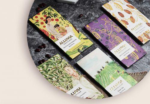 Alluvia Chocolatier 5 vị sẽ mang đến một sự bùng nổ trong hương vị