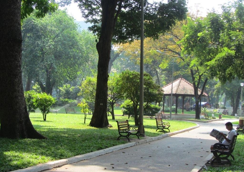 Park for kids in Saigon