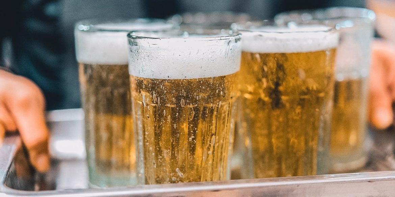 Drinking beer in Vietnam