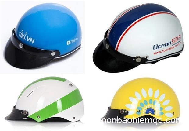Mặc dù là sản phẩm tặng nhưng mũ bảo hiểm quảng cáo cũng phải đạt chất lượng