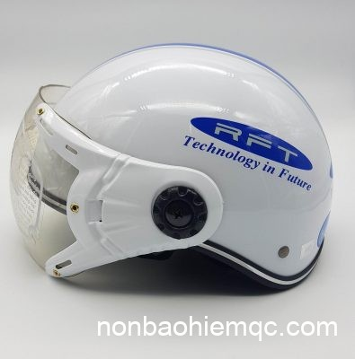 Kiểu dáng mũ bảo hiểm nửa đầu là đơn giản nhất, rẻ tiền nhất