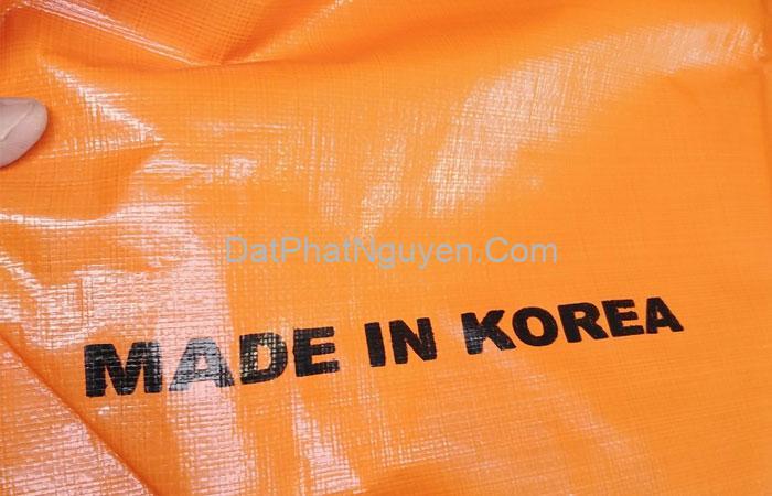 Bạt nhựa với chất lượng ưu việt nhờ sản xuất từ chất liệu cao cấp