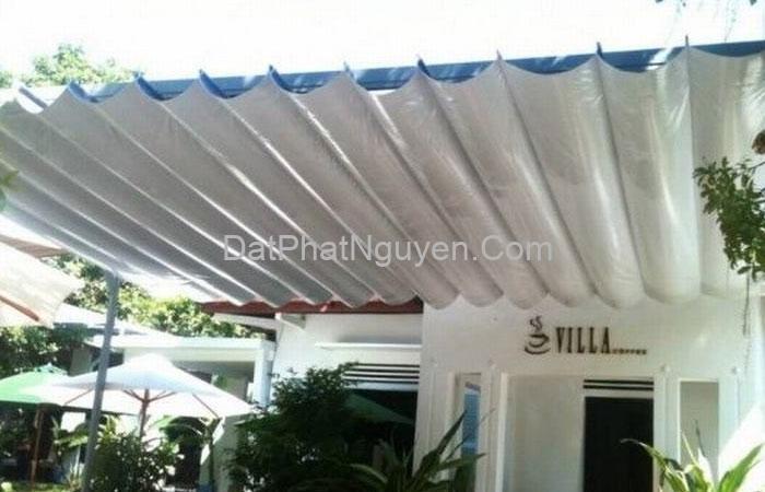 Lợi ích của việc sử dụng mái bạt xếp ngoài việc che mưa che nắng, tránh hư hỏng do thời tiết