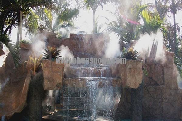 Hê thống phun sương Hawin được sử dụng để tạo cảnh quan và các hiệu ứng sương mù.