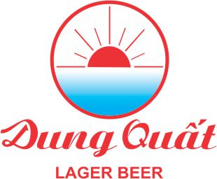 Logo áo mưa beer Dung Quất Lager Beer