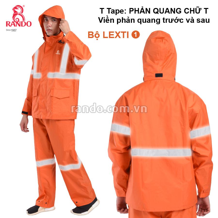 Bộ áo mưa Lexti 1 T-Tape