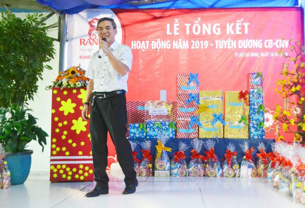 Ông Ngô Đa Lộc – Chủ tịch HĐTV RANDO
