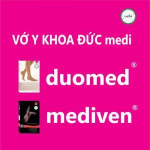 Bảng màu hồng medi Duomed Mediven