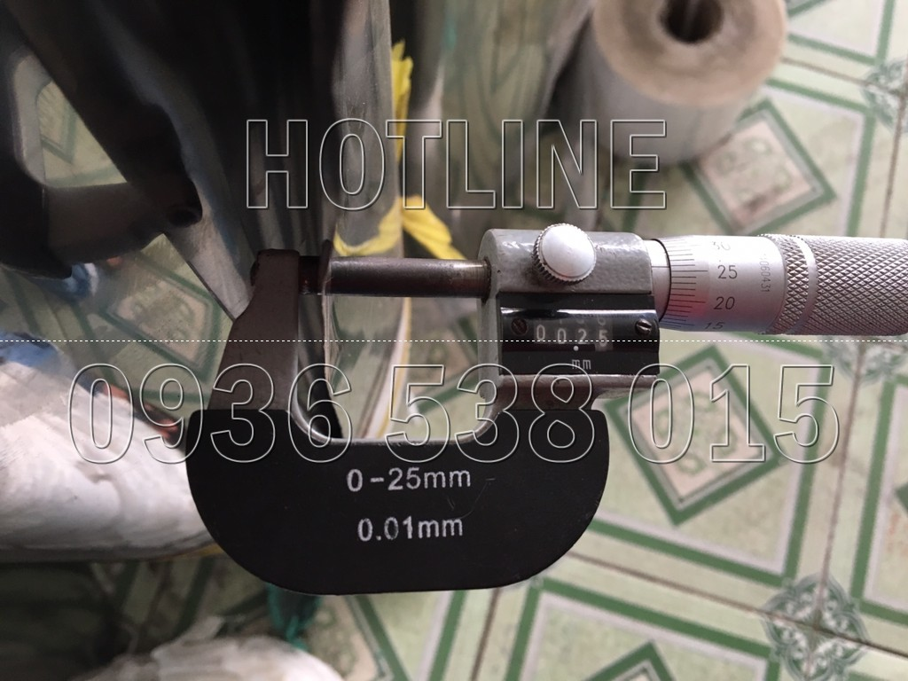 shim chêm inox 0.25mm