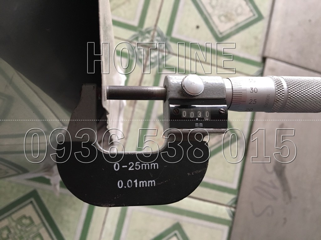 shim chem inox 0.3mm