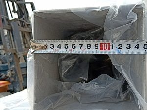 hộp inox 304 150x150mm