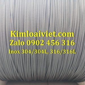 Cáp Inox 304/304L 2mm