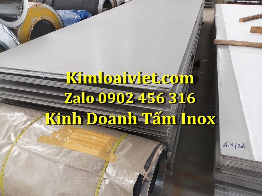 Tấm Inox 410 dày 10mm