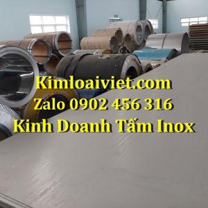 Tấm Inox 201 dày 1.5mm