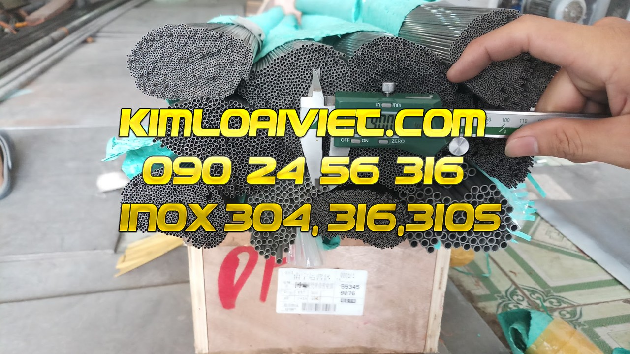 Ống Inox 304L phi 1.50mm
