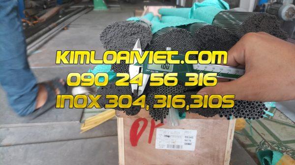 Ống Inox 304L phi 1.45mm