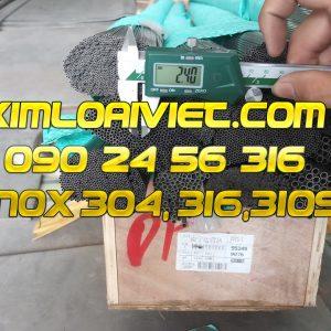 Ống Inox 304L phi 1.60mm