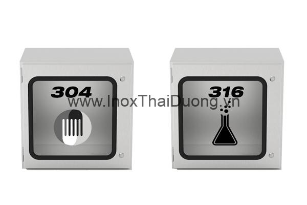 So sánh inox 304 và inox 316