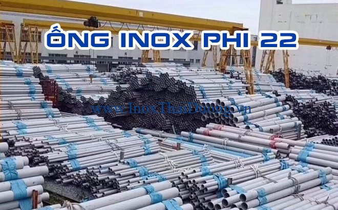 ống inox phi 22