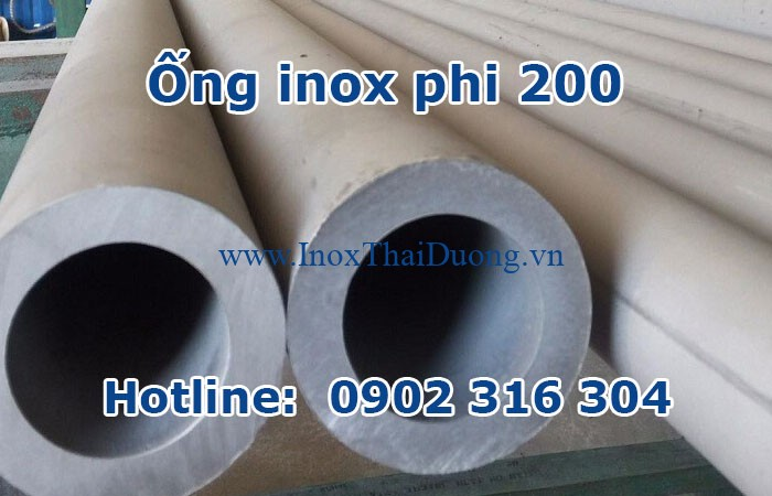 ống inox phi 200